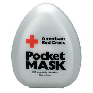 First Aid Only 363705 Pocket Cpr Mask universal clamshell