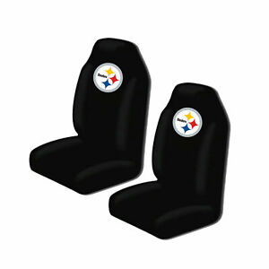 Pittsburgh Steelers High Back Car Seat Covers Pair Universal Suv