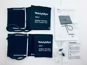 Welch Allyn Adult Blood Pressure Cuff 5082 25 Durable 2 Tube Bag 2 Piece
