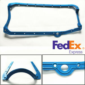 Oil Pan Gasket Blue Pre Fit Sb Chevy Engines 79 Early 265 283 327 350 383 400 Us
