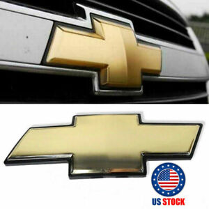 Chevy Front Grill Bowtie Oem Emblem 2007 2014 Suburban Tahoe Avalanche
