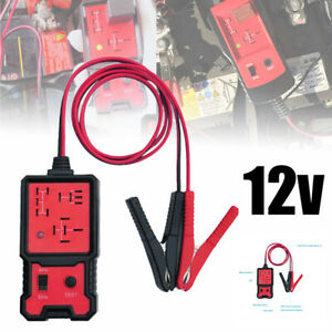 12v Electronic Automotive Relay Tester Cars Auto Battery Checker P7c0 Tool