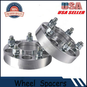 2x 1 25 5 Lug 5x4 5 Hubcentric Wheel Spacer For Ford Mustang Gt500 Shelby Cobra
