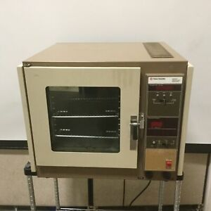 Fisher Scientific 282a Isotemp Vacuum Oven 1800w 115vac 50 60hz 1 5 Cu Ft 280 c