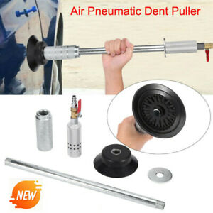 Air Pneumatic Dent Puller Repair Kit Suction Car Auto Body Cup Slide Hammer Tool