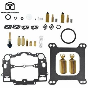 Carburetor Kit For Weber Marine W 4 Bbl Mercruiser 809064 With Floats 8m0120193