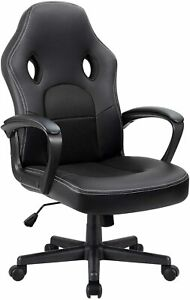 Furmax Office Chair Desk Leather Gaming Chair High Back Ergonomic Adjustable