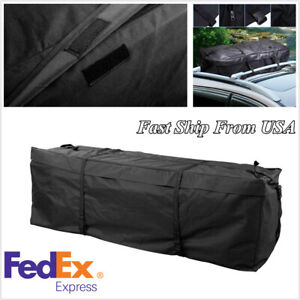 Car Roof Top Rack Cargo Carrier Luggage Storage Travel Bag Waterproof Usa Stock