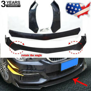Universal Front Bumper Lip Protector Spoiler For Hyundai Bmw Audi Benz Ford