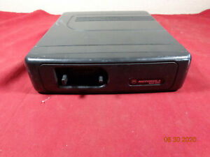 Motorola Mcs2000 Ii Mobile Rear Mount Radio M01skm9pw6 With Mdc 1200