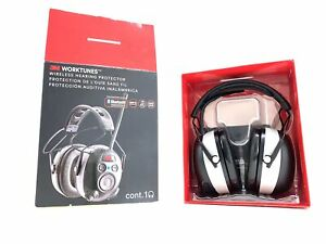 3m Worktunes Wireless Hearing Protector W Bluetooth Technology 90542 29887 1