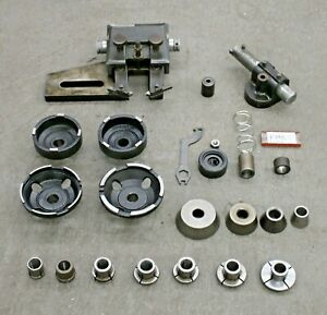 Fmc Brake Lathe Cutting Head Adapter And Tooling Set Auto Truck Shop Tool