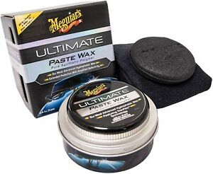 Meguiar s 1 Ultimate Paste Car Wax Pure Synthetic Polymer Shine As A Mirror