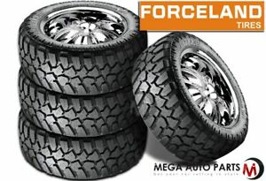 4 Forceland Kunimoto M T 35x12 5x20 121q Off Road Pickup Truck Mud Tires Tires