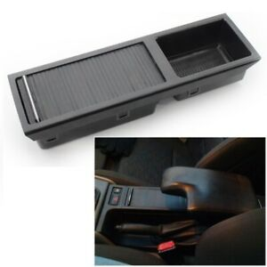 For Bmw E46 3 series Center Console Storage Tray W Roller Cover 51168248504