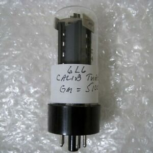 6l6 Calibration Vacuum Tube For Hickok 800 800a Others 5100 mhos New