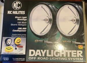 Kc Daylighter Black Original Off Road Lights 100w Pr 233