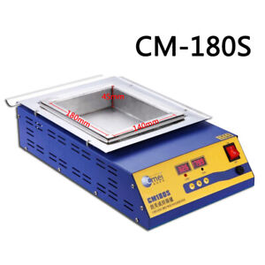 Cm180s Lead free Solder Soldering Pot 1200w 110v Tin Compact Heating Element Us