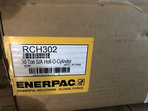 Enerpac Rch 302 Hollow Cylinder 30 Hollow Ram 2 5 In Stroke New In Box