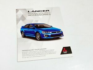 2016 Mitsubishi Lancer Accessories Brochure $9.75