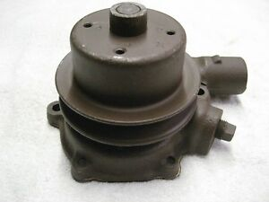 1938 Chevrolet 38 Car Truck 216 Rebuilt Water Pump With High Pulley W820