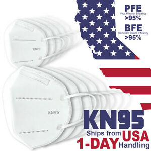 10pc Kn95 Face Mask Pm 2 5 Protective 5 Layer Disposable Respirator Safety Cover