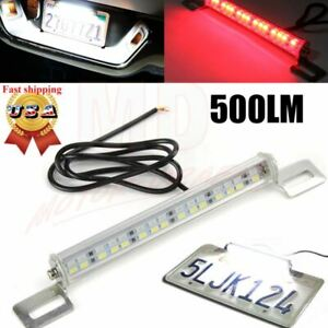 Universal License Plate Mount High Power Led Back Up Light For Car Suv Truck Rv