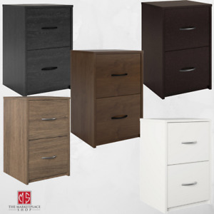 2 Drawer Filing Cabinet Home Office File Small Space Organizer Box New