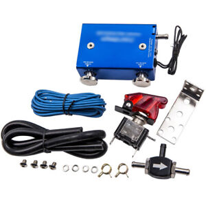 Dual Stage Electronic Turbo Boost Controller Psi Turbocharger W Switch Kit
