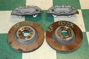 15 18 Mustang Gt Lf Rf Front Caliper Rotor Set Performance Brembo Package Oem