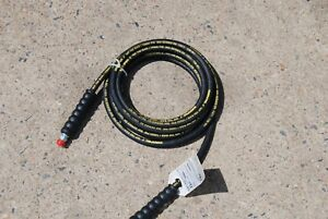 Enerpac H9220 Hydraulic Hose 20 Ft 10 000 Psi No Coupler 1 4 Id Hose