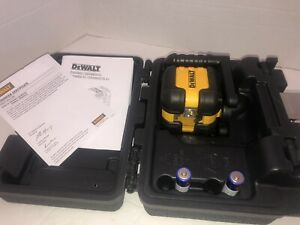 New Dewalt Dw08802 Laser Self Leveling Cross Line 50 Range Kit 2667343