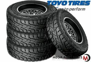 4 Toyo Open Country R T 37x12 50r20 126q All Terrain Tires 45000 Mile Warranty