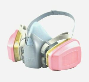 3m 7502 37082 Respirator Medium Size Half Face Piece With 1 Pair 60926 Filter