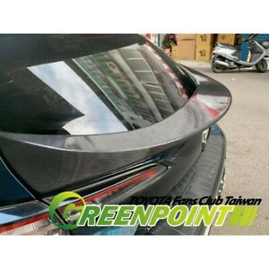 2019 2020 Toyota Corolla Hatchback Rear Middle Spoiler Carbon Or Painted