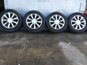 Set Of Wheels And Tires For Nissan Infinity Qx 2008 In Good Condition 275 55 20