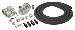 Derale 15781 Cooling Products Oil Filter Relocation Kit Single Mnt Port