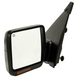 Driver Towing Power Heated Turn Signal Tow Left Side Mirror For 04 06 Ford F150