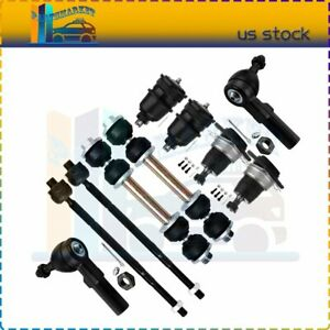 Suspension 10 X Front Ball Joints Tie Rods Sway Bars Kit Fits Chevrolet Camaro
