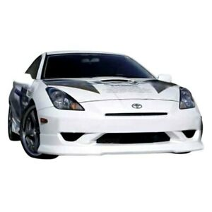 For Toyota Celica 2000 2005 Kbd Ing Style Front Bumper Lip Unpainted