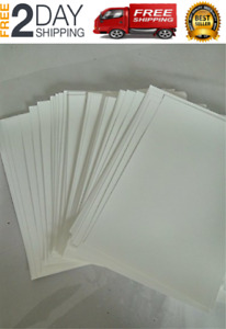 Hydrographics Film Blank Water Transfer Printing Film 12 Pcs A4 Size Blank