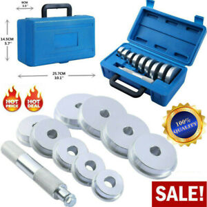 10pc Set Bearing Race And Seal Driver Automotive Bushing Installer Remover Kit