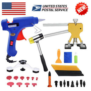 36pcs New Paintless Car Auto Body Dent Repair Tool Kit Easy To Use Usa