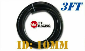 black 10mm 3 8 Silicone Vacuum Tube Hose Tubing Pipe Price For 3ft