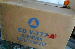 Victoreen Cd V 777a Radiation Detection Set W 3 Meters Charger In Box manuals