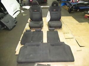 2006 2011 Honda Civic Si Coupe Seats Seat Set Front Rear Oem 06 11