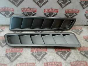 2013 Ford Mustang Gt Oem Lh And Rh Hood Scoops Grey