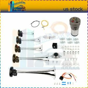 Easy Installation Air Horns Included Install Wire Kit For Car Lorry Boat