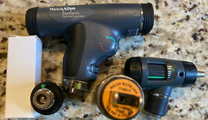 Welch Allyn Diagnostic Set Panoptic Ophthalmoscope Macroview Otoscope Lithium