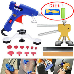 Car Auto Body Dent Paintless Repair Tool Kit New 26pcs Golden Dent Lifter